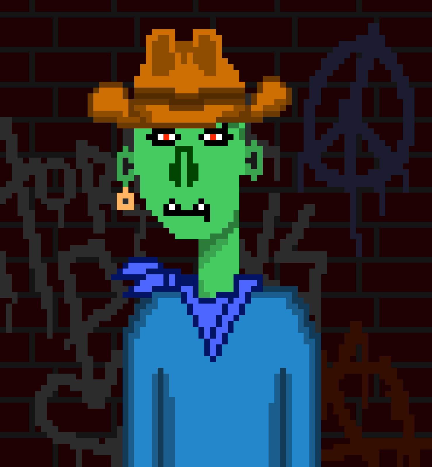 Horror Punks Cardano NFT 00683