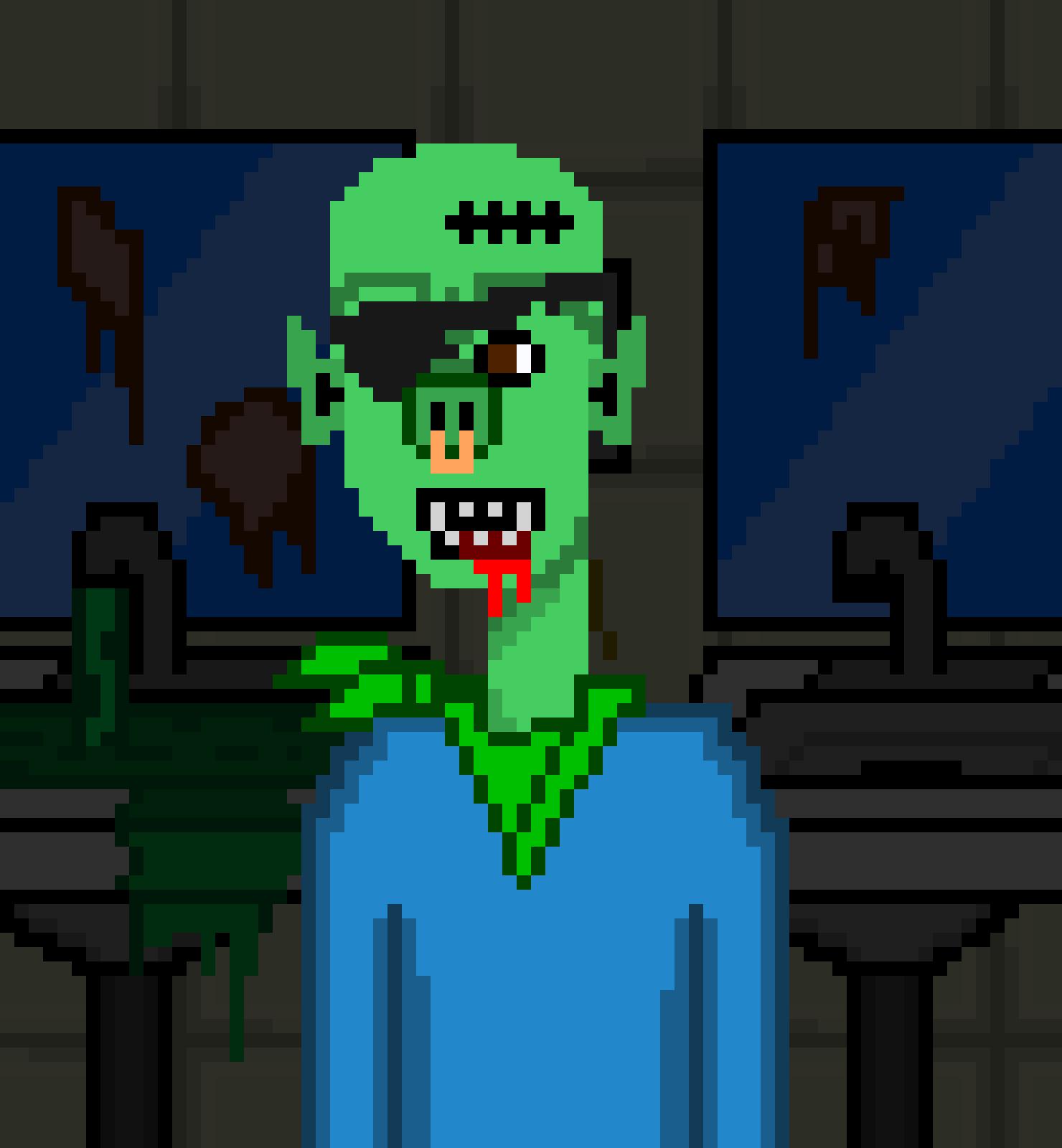Horror Punks Cardano NFT 00807
