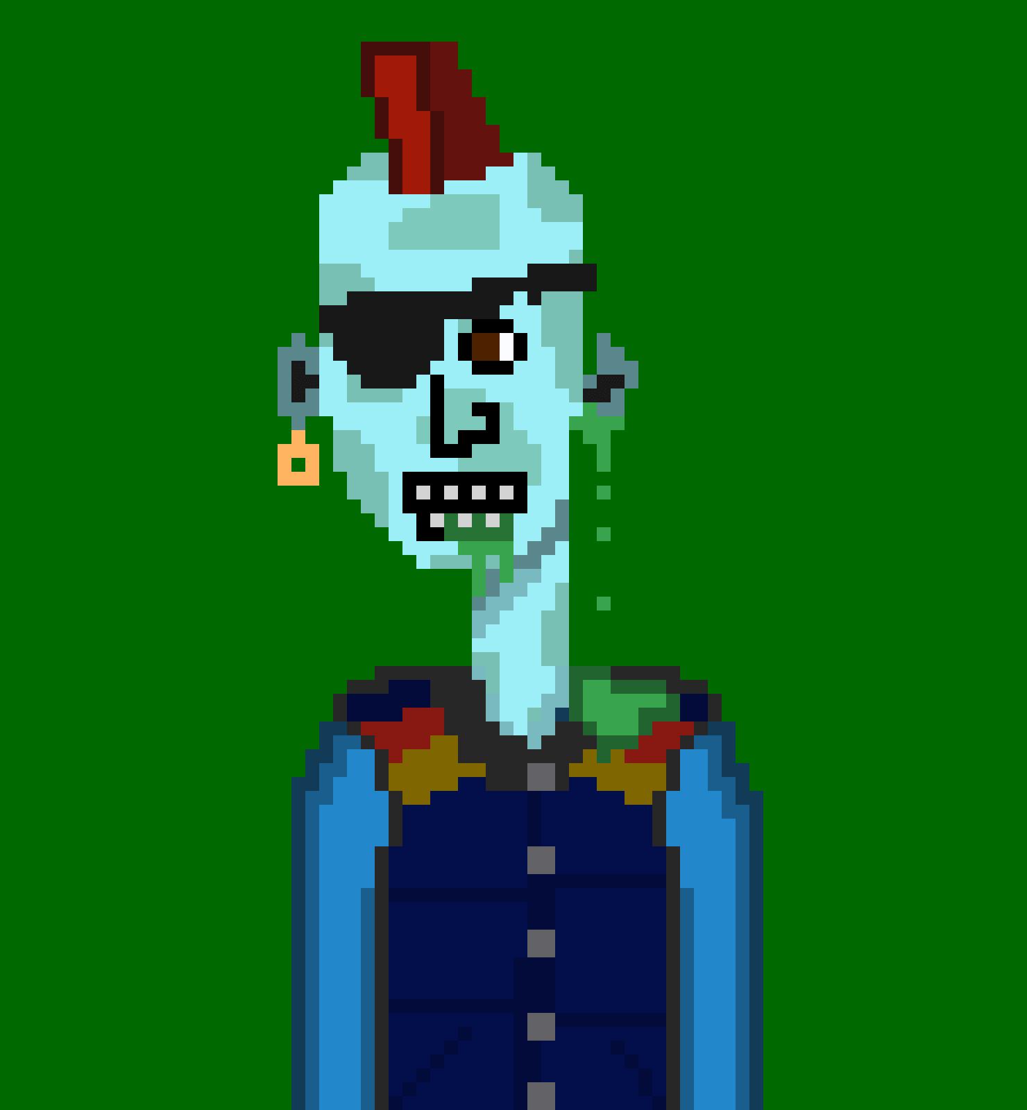 Horror Punks Cardano NFT 01493