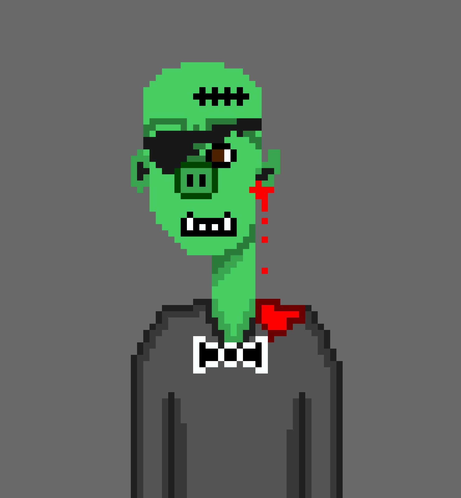 Horror Punks Cardano NFT 01758