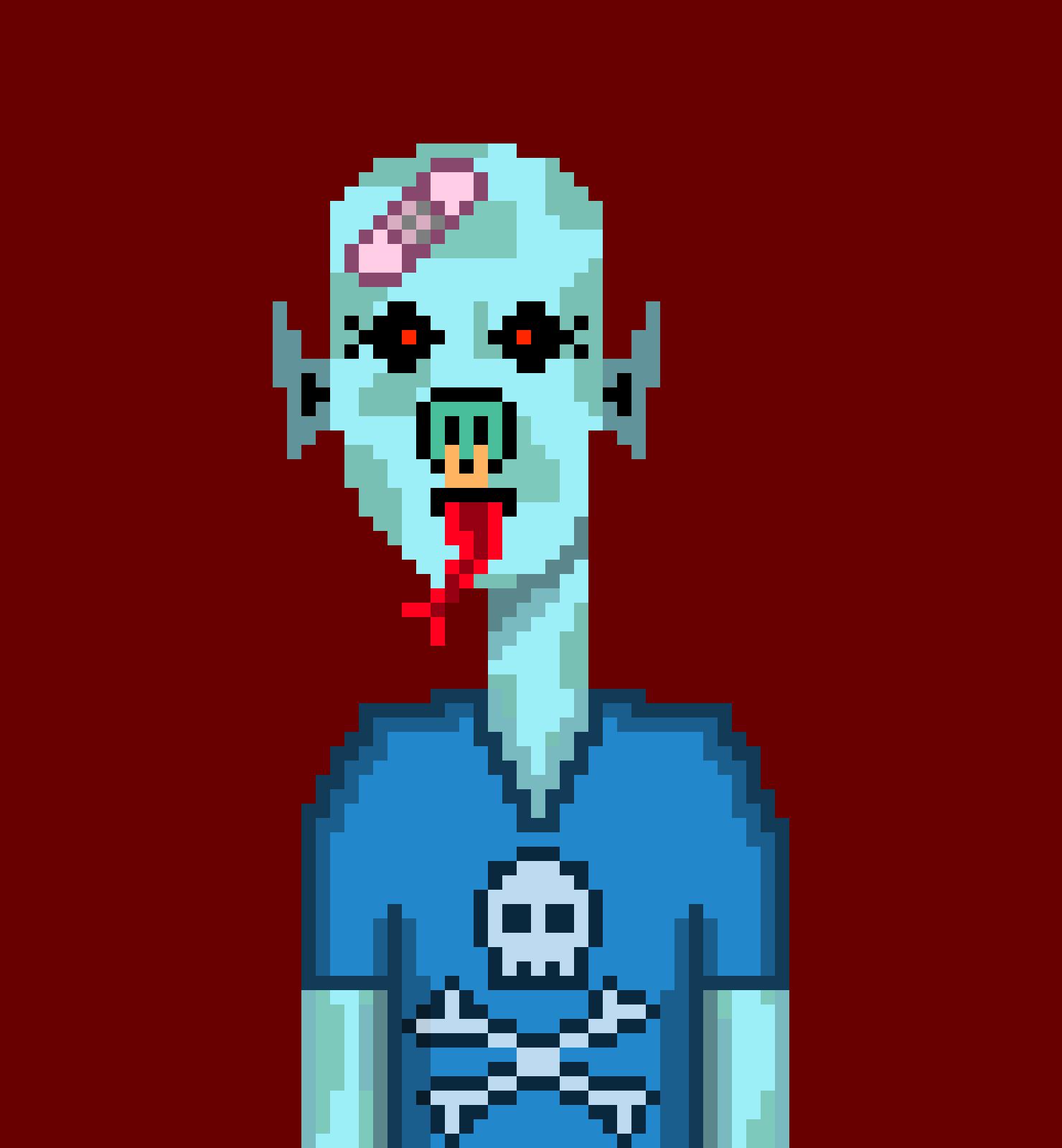 Horror Punks Cardano NFT 01779