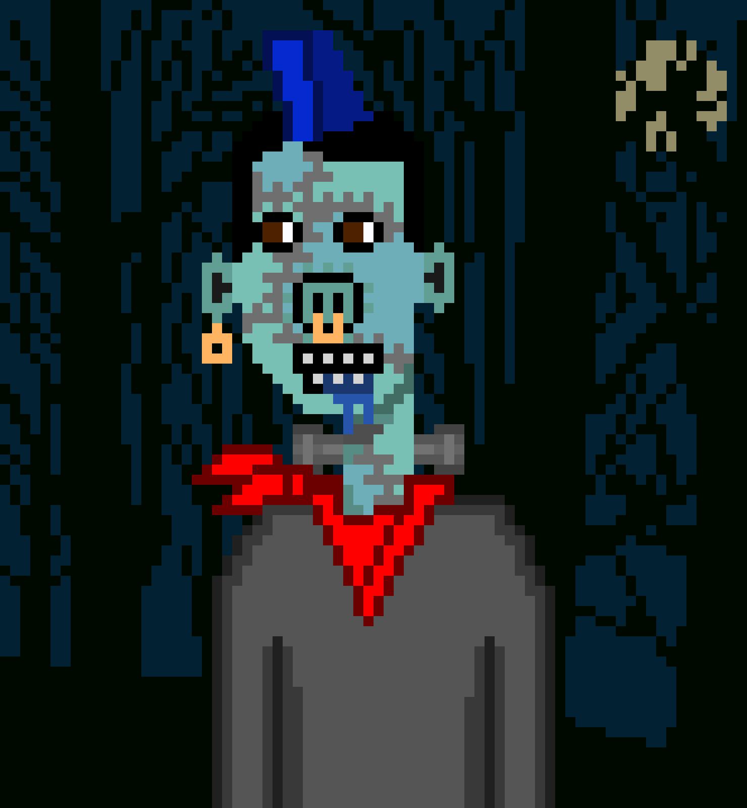 Horror Punks Cardano NFT 06798