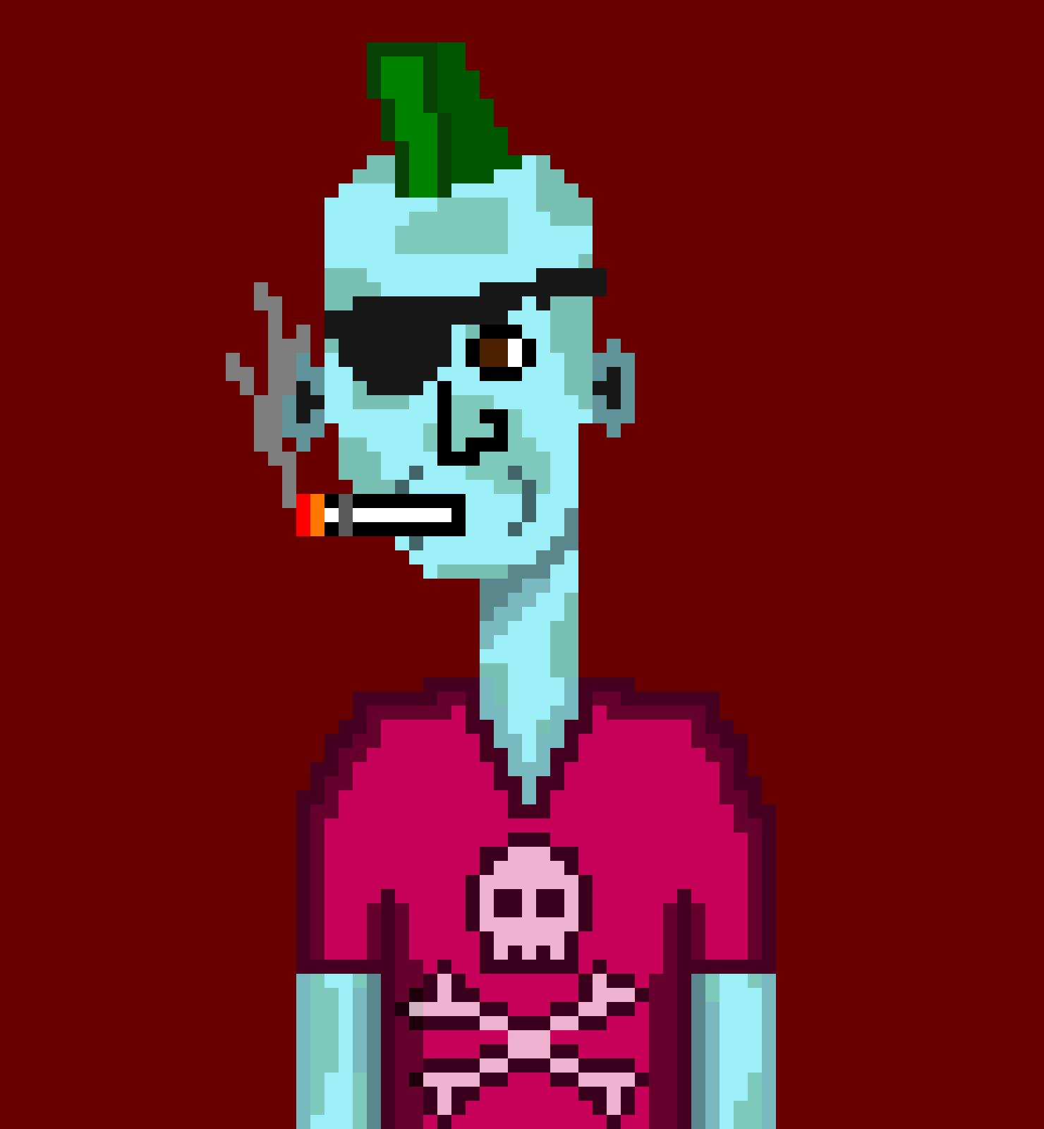 Horror Punks Cardano NFT 09474